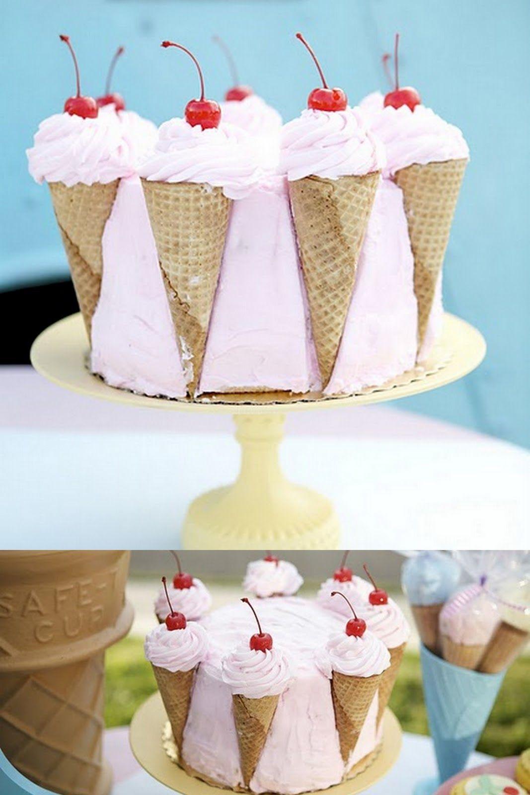 cute birthday cake
