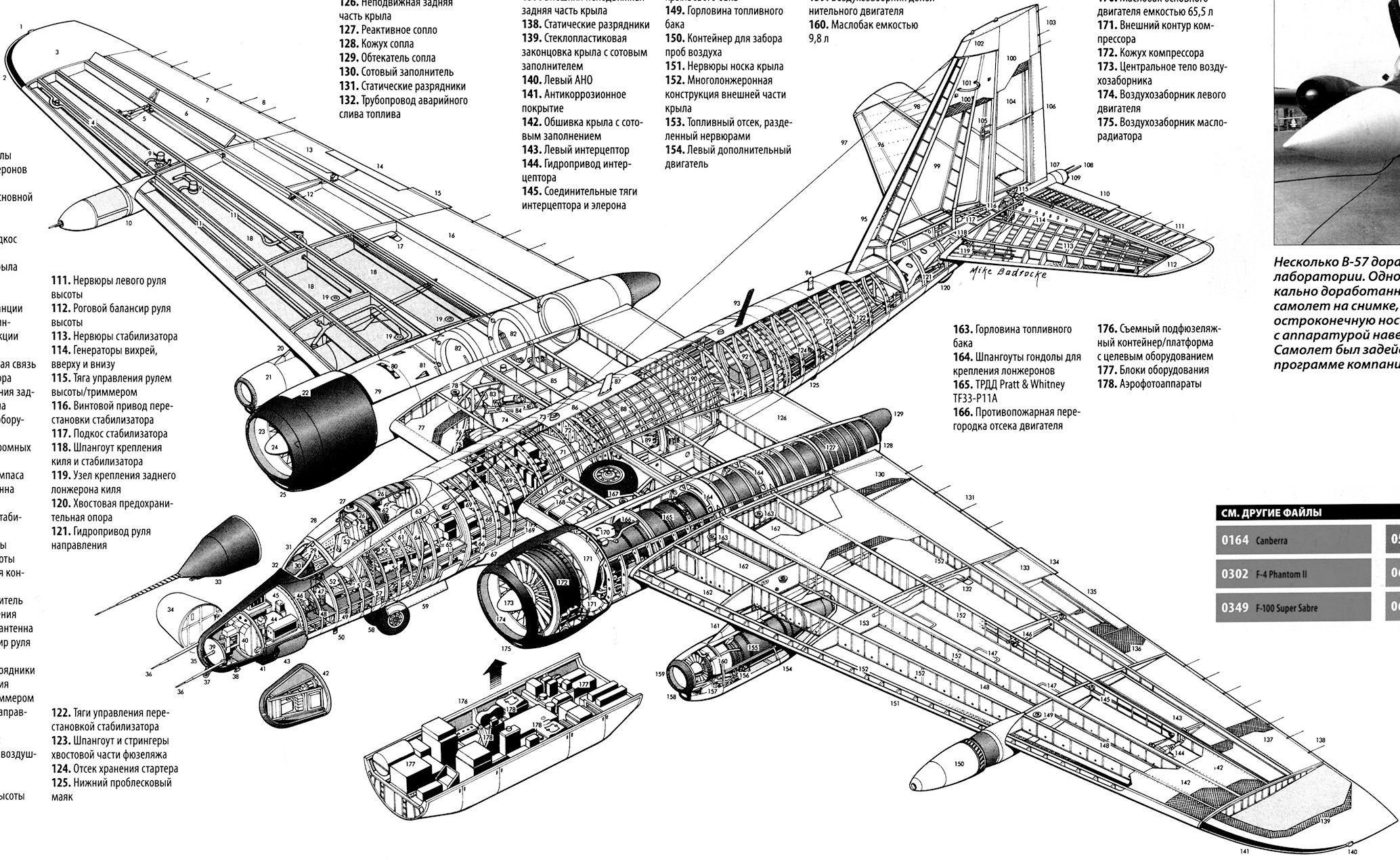 Martin Rb 57f Planes