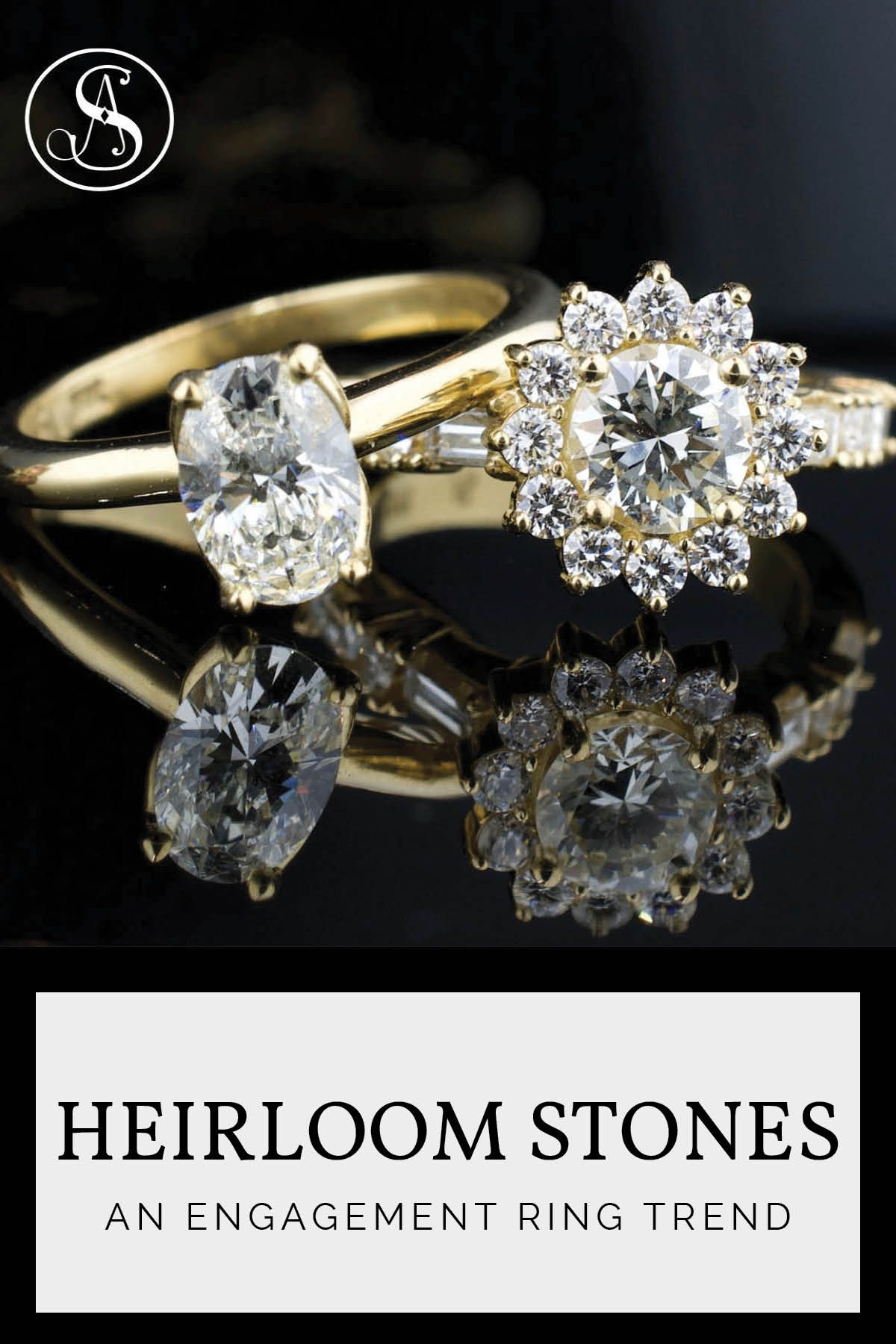 Creating New Jewelry From Old Jewelry Abby Sparks Jewelry Old Jewelry Jewelry Three Stone Engagement Rings