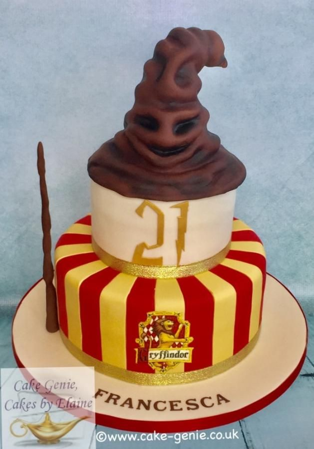 Harry Potter Sorting Hat Cake By Elaine Bennion Cake