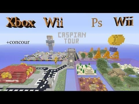 Minecraft Caspian Tour Map Download Xboxps4wii Upe