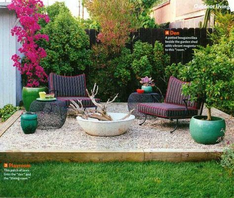23 easy to make ideas building a small backyard seating for Small sitting area ideas