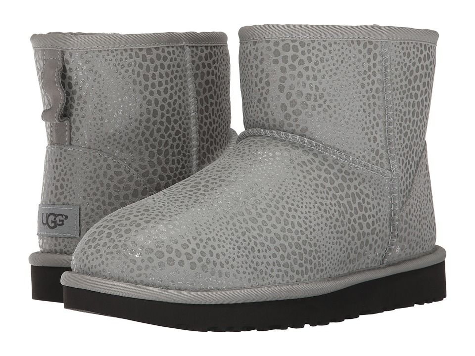 25d8b9c3899 UGG Classic Mini Glitzy Women's Cold Weather Boots Grey Violet ...