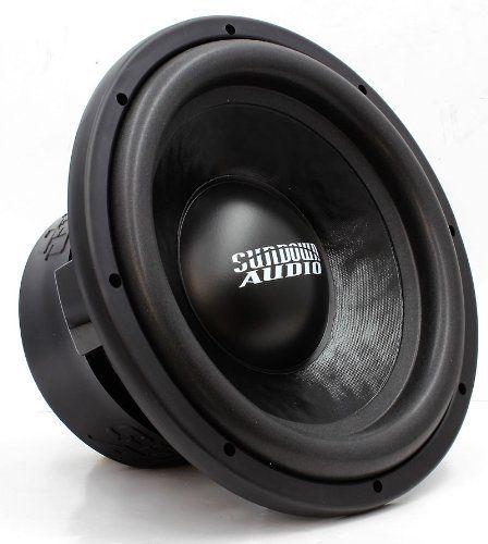 "SUNDOWN AUDIO E-10 V.3 D4 10/"" SUBS 500W RMS DUAL 4-OHM SUBWOOFERS SPEAKERS 2"