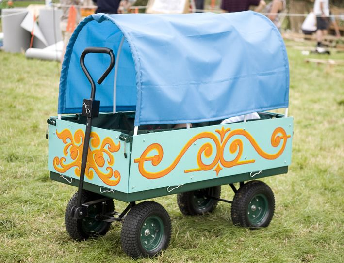Our Festival Wagon Festival Ideas Festival Trolley