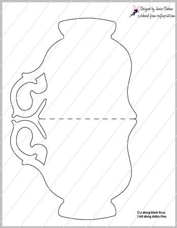 This Is Cute Teacup Design Template Enjoy Using This To Create Your Favorite Cards Credit Is Appre Card Making Templates Paper Tea Cups Card Template