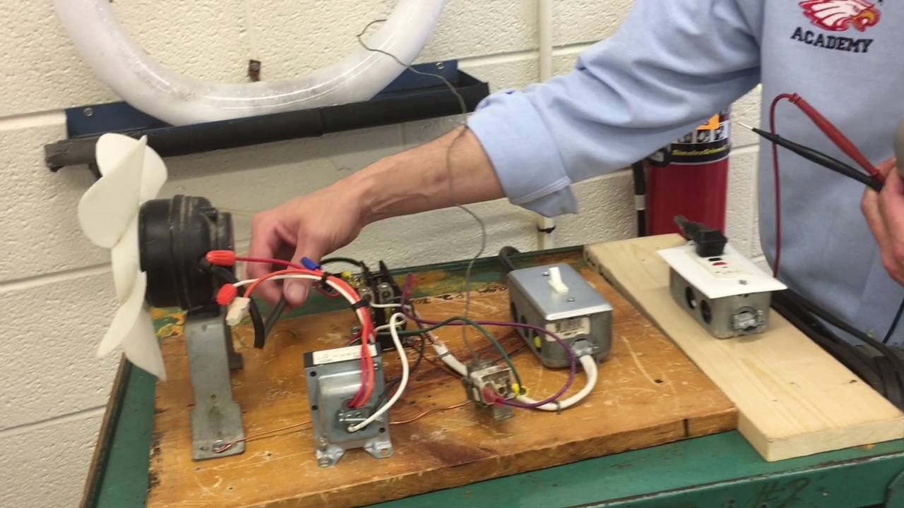HVAC Electrical Project 3 - Testing the contactor