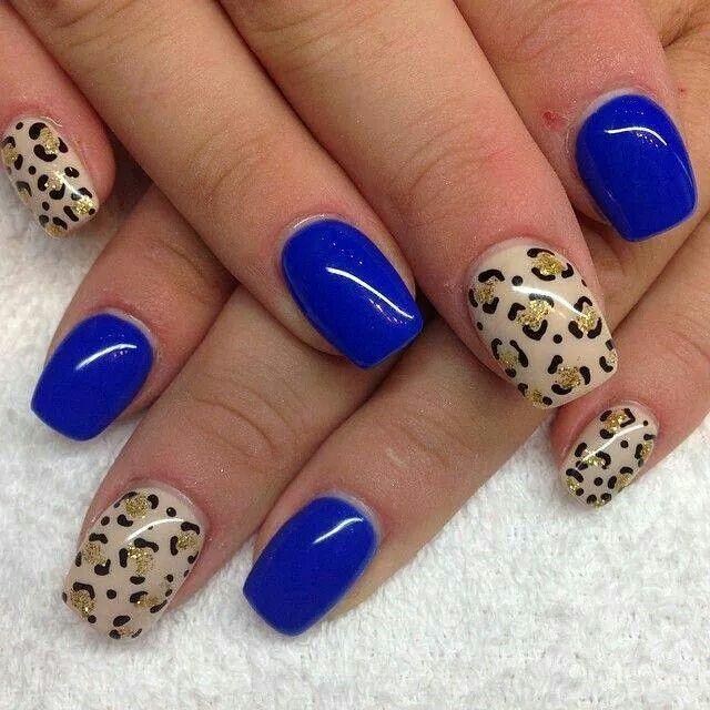 Tigresa Azul Decorado A Mano Alira Pinterest