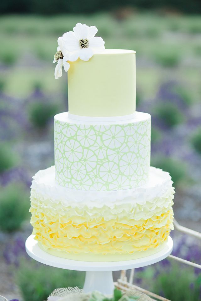 Lemon Wedding Cake Tiffany Joyce Photography See More On Http