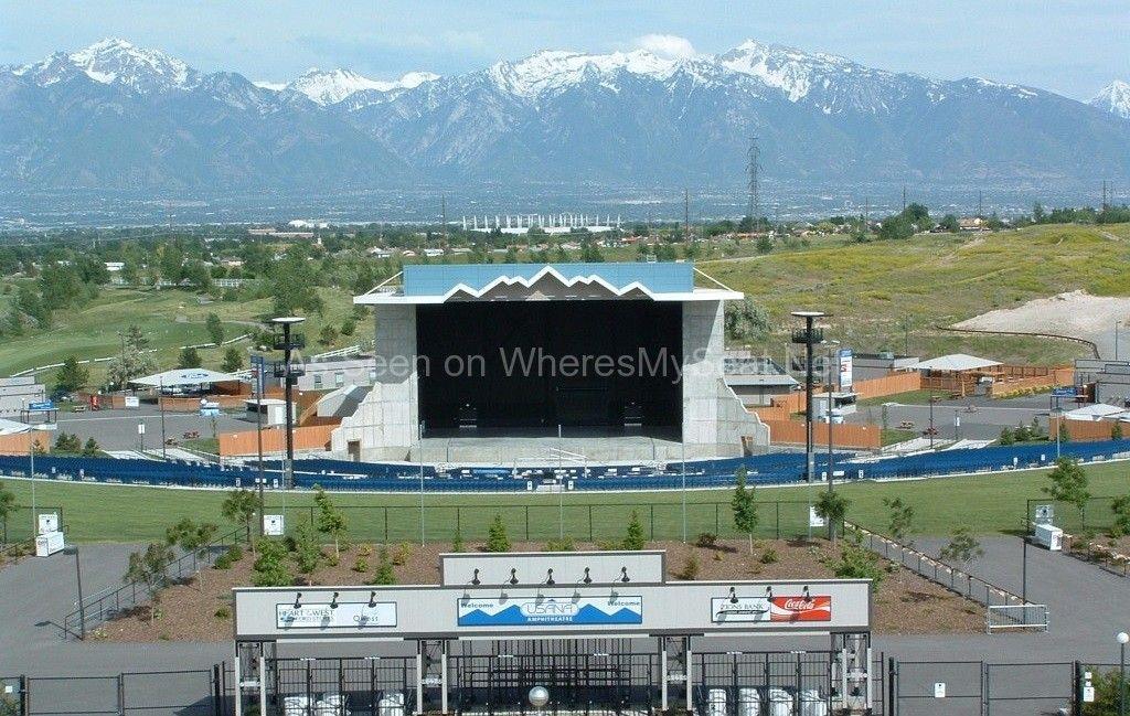 Home Where S My Seat Amphitheater Salt Lake City Ut Seating Charts