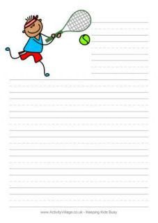 Awesome site with free printable stationary for kids All kinds of