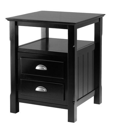 20920 Timber Night Stand Walmart Ca 179 00 Winsome Wood Wood Nightstand Bedside Tables Nightstands
