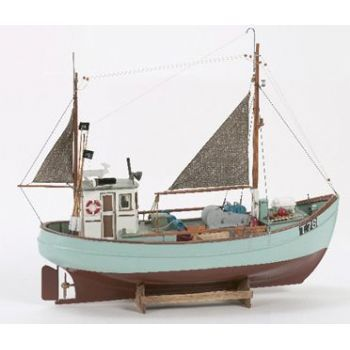 This billing boats norden fishing boat static model 1 30 for Model fishing boats