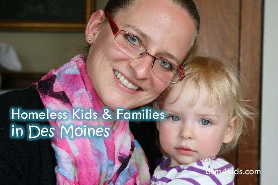 Homeless kids families in des moines what is health