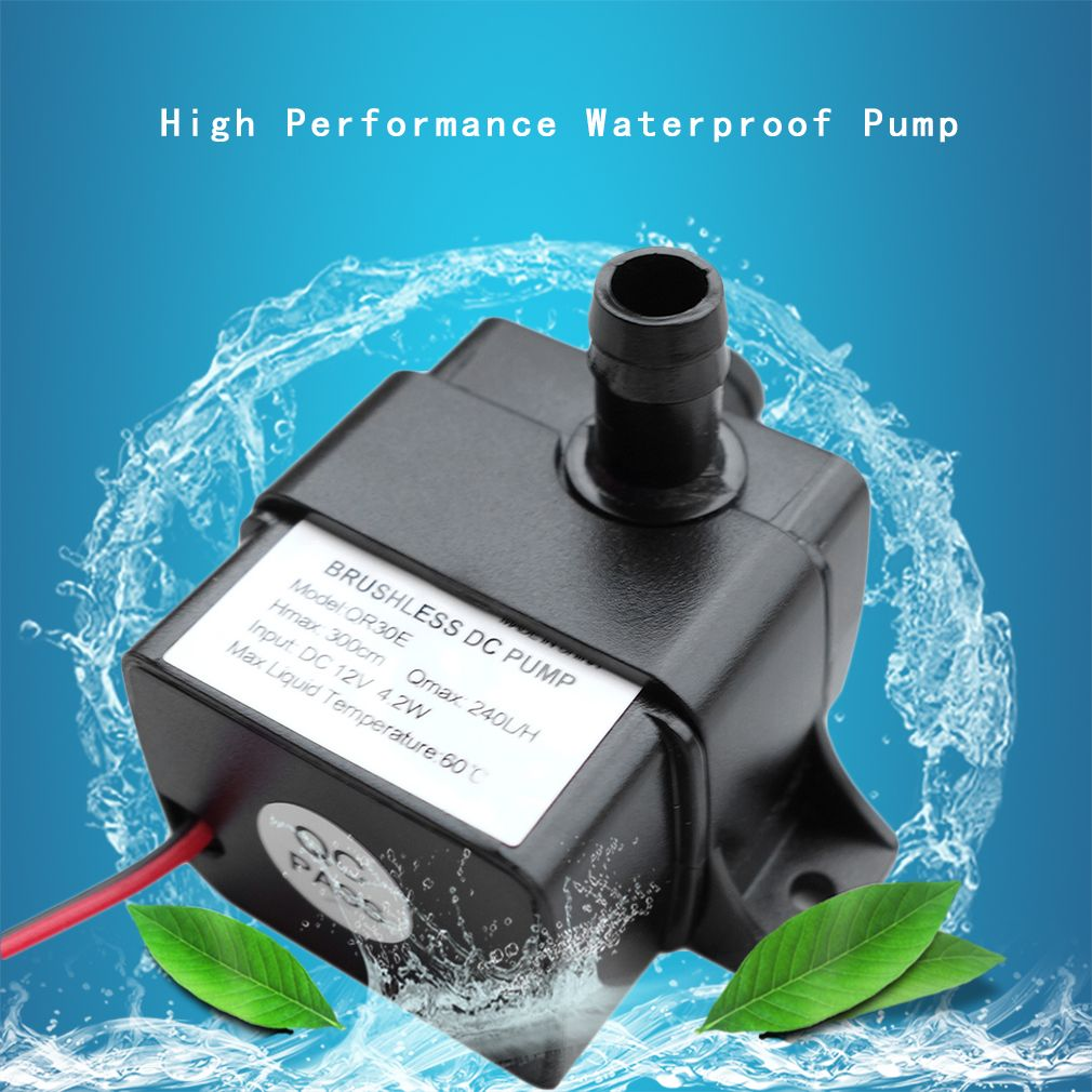 Durable Quality 240l H Dc 12v 2 Phase Cpu Cooling Car Brushless