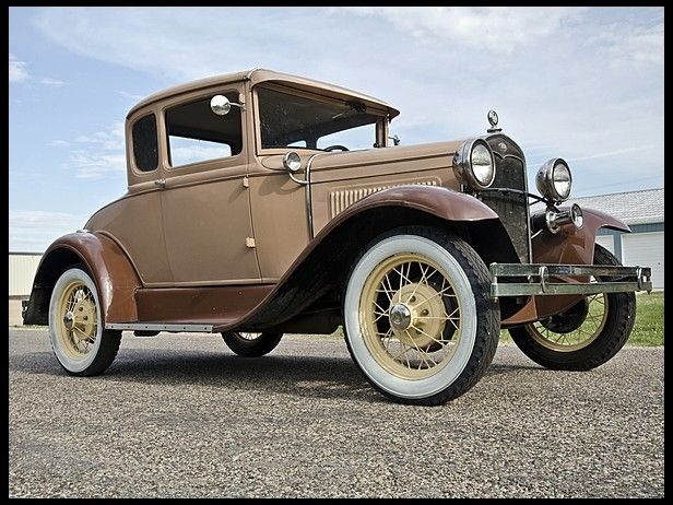 1931 Ford Model A Rumble Seat Ford Models Classic Cars Classic