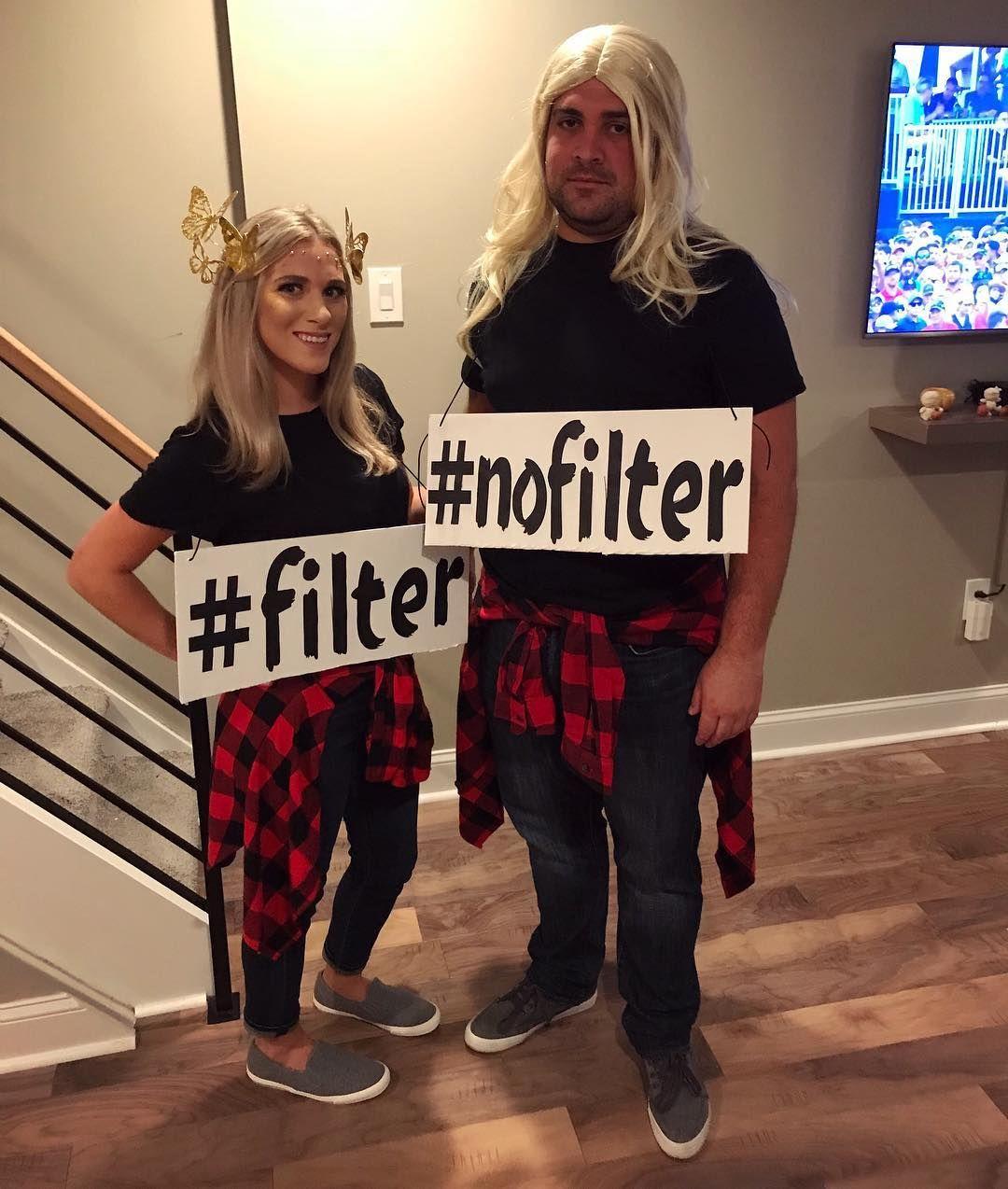 Filter no Filter Halloween Costume
