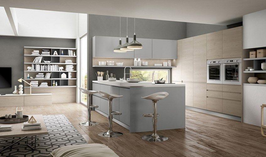 Idee In Cucina Bologna.Cucina Con Zona Giorno Modello Wega Di Arredo3 Da Bertocchi