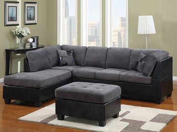 grey sectional sofa