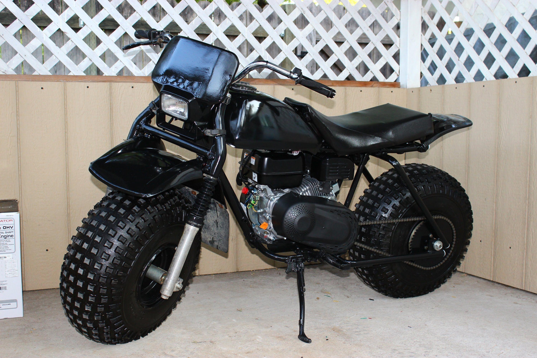 MONSTER MINIBIKE HONDA ATC 3 WHEELER TO 2 WHEELER | Mini motorbike, Mini  bike, Tires for sale