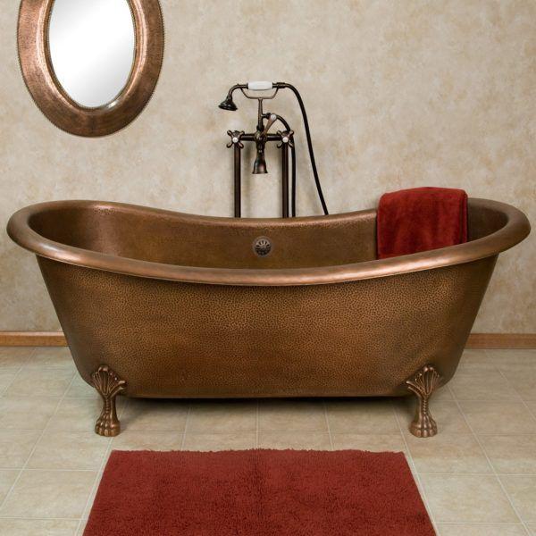 turn clawfoot tub into shower. Copper Bathtubs  Turning Your Bathroom Into An Antique Paradise Clawfoot BathtubBathtub
