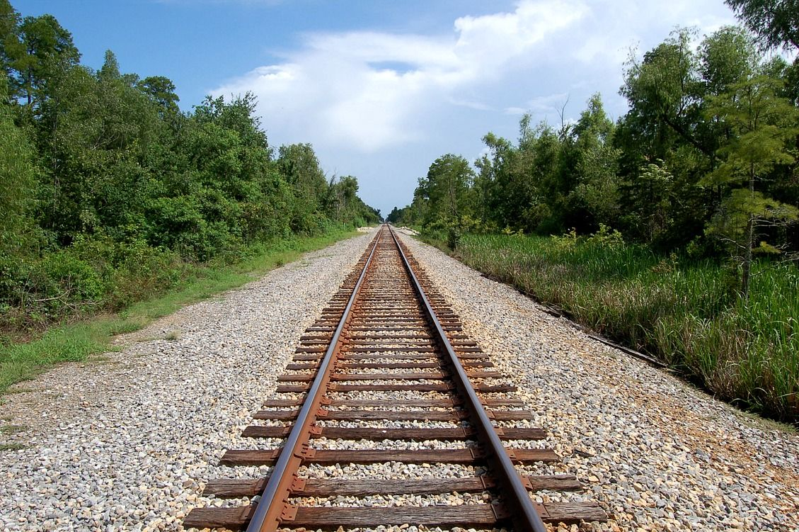 tracks parallel lines Railroad