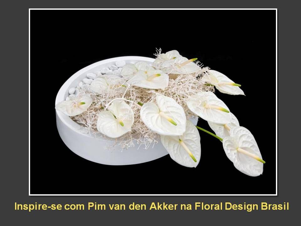 Pim van den Akker ministra dois workshops na Floral Design Brasil em junho de 2013:  Dias 14 e 15 - O processo criativo em arte floral - 1  Dias 16 e 17 - O processo criativo em arte floral - 2  www.floraldesign.com.br