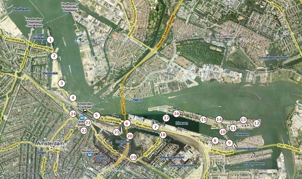 Jordaanweb wandelroutes: architectuur langs de IJoevers