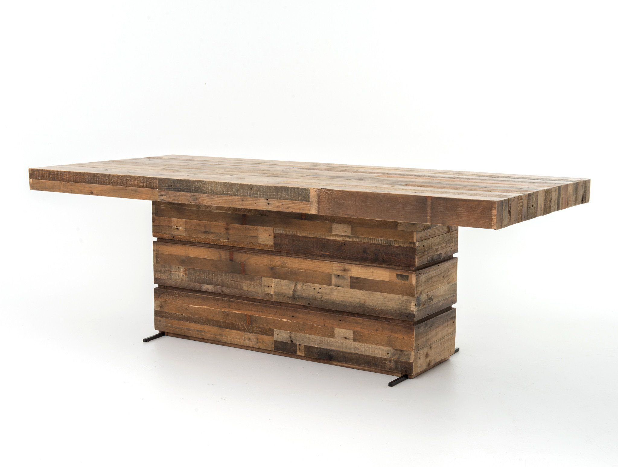 100 Recycled Pine Table 89 W X 39 D X 31 H Lead Time May Vary