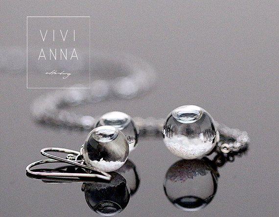 Just a dream Mini Schneekugel Set set029 von Viviannaschmuck