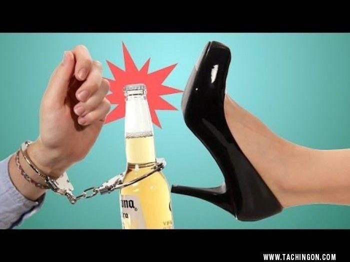 21 Maneras de Abrir una Botella