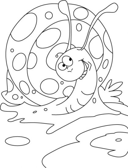 High spirited snail coloring pages | Download Free High spirited ...