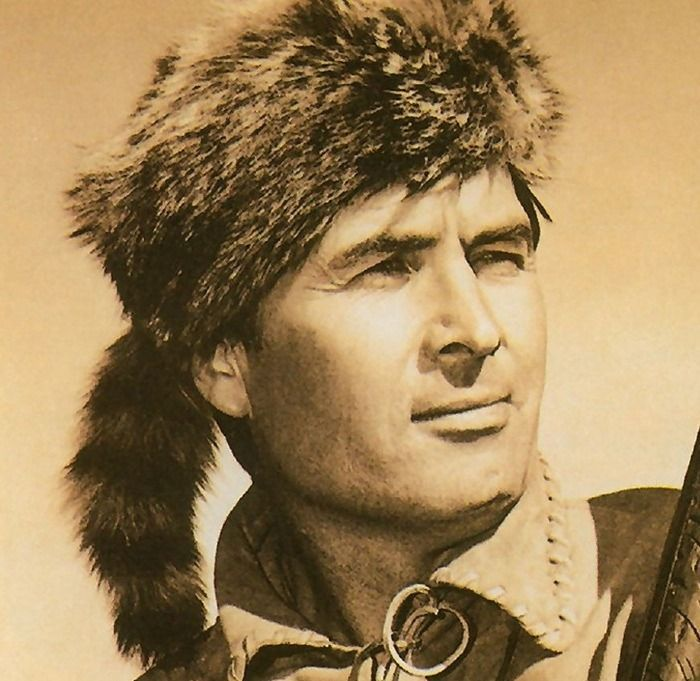 c3ae7becf25 My Davy Crockett coonskin hat came from Santa.
