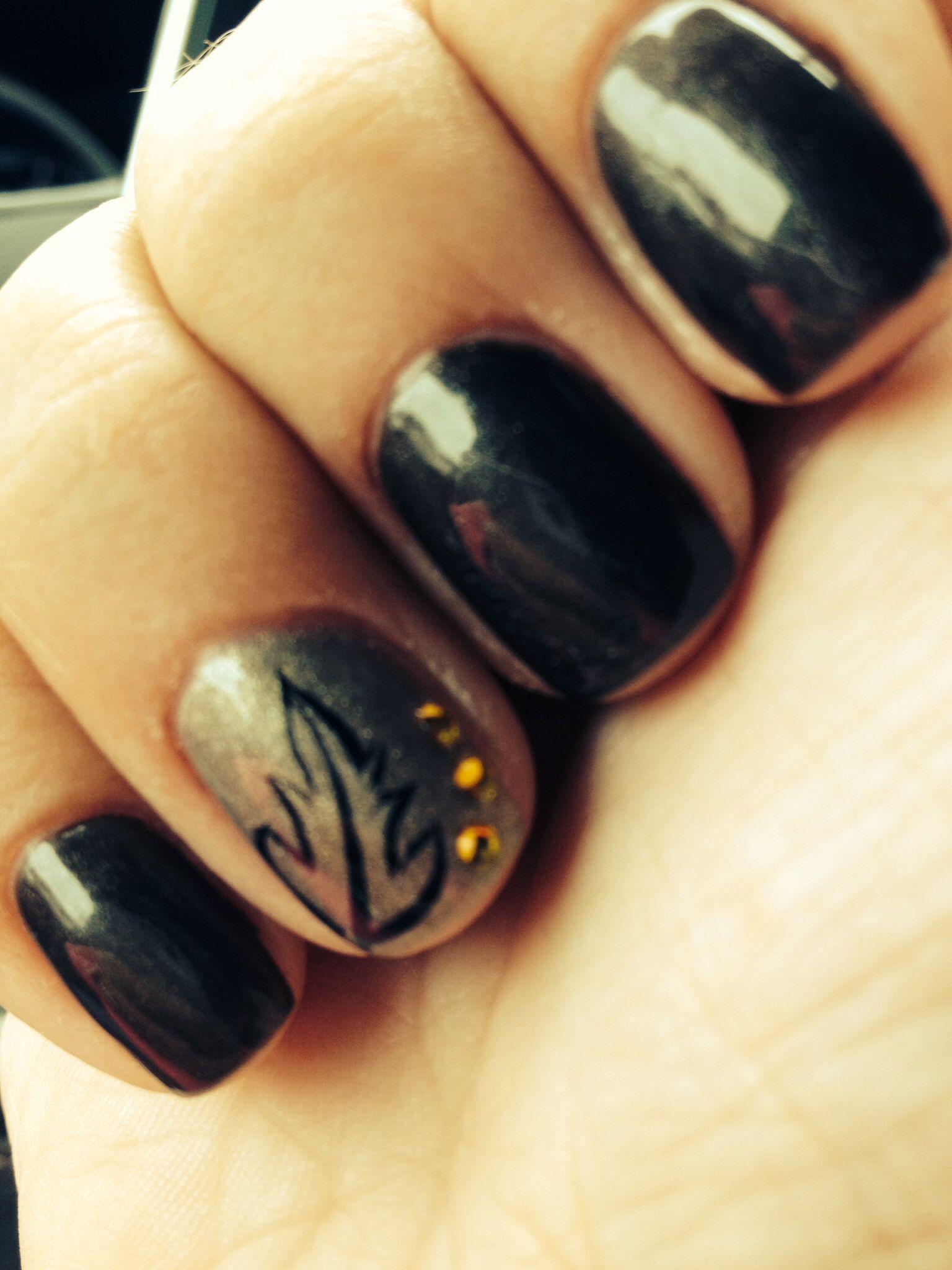 Fun Fall Nails | Nails | Pinterest | Makeup, Diy manicure and Hair ...