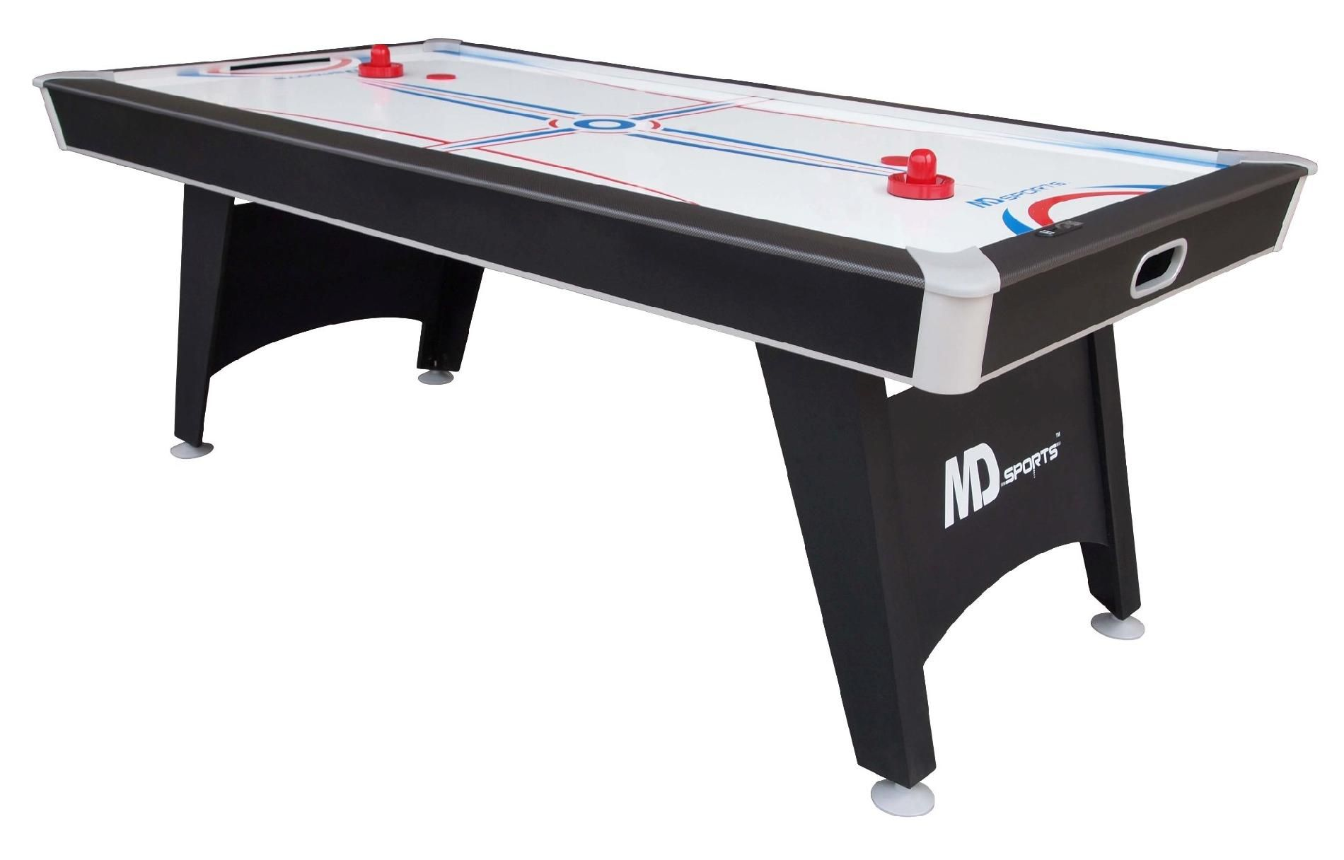 Md Sports Tournament Cup 7 Ft Air Hockey Table With Bonus