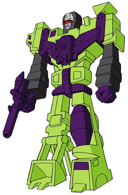 Transformers Generation 1 Cartoon Characters : Decepticon devastator constructicons g cartoon version