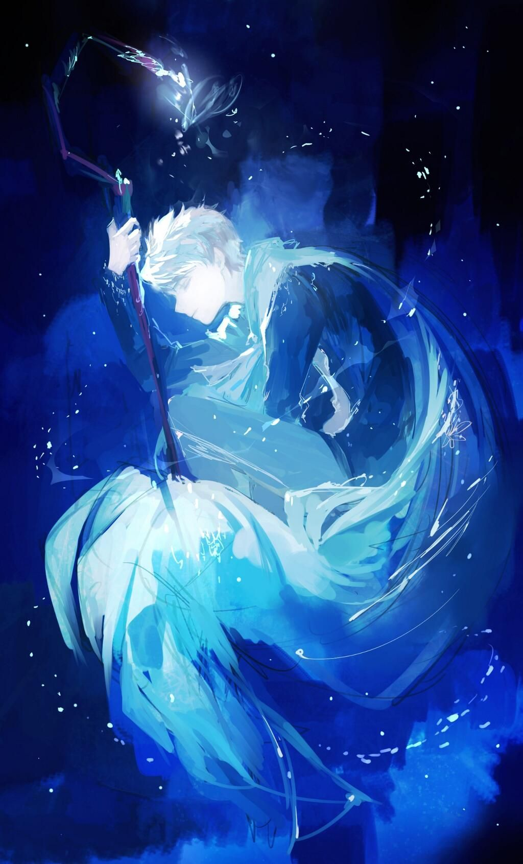 Rise Of The Guardians Jack Frost And Frozen S Elsa Jack Frost