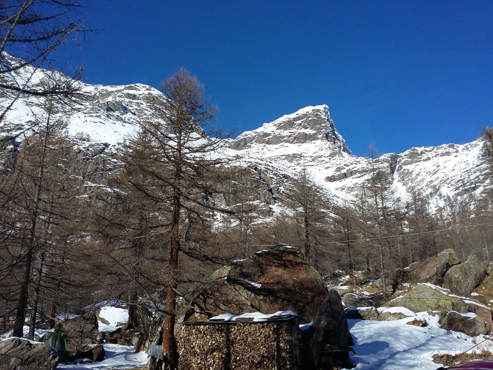 Neve in alpe devero