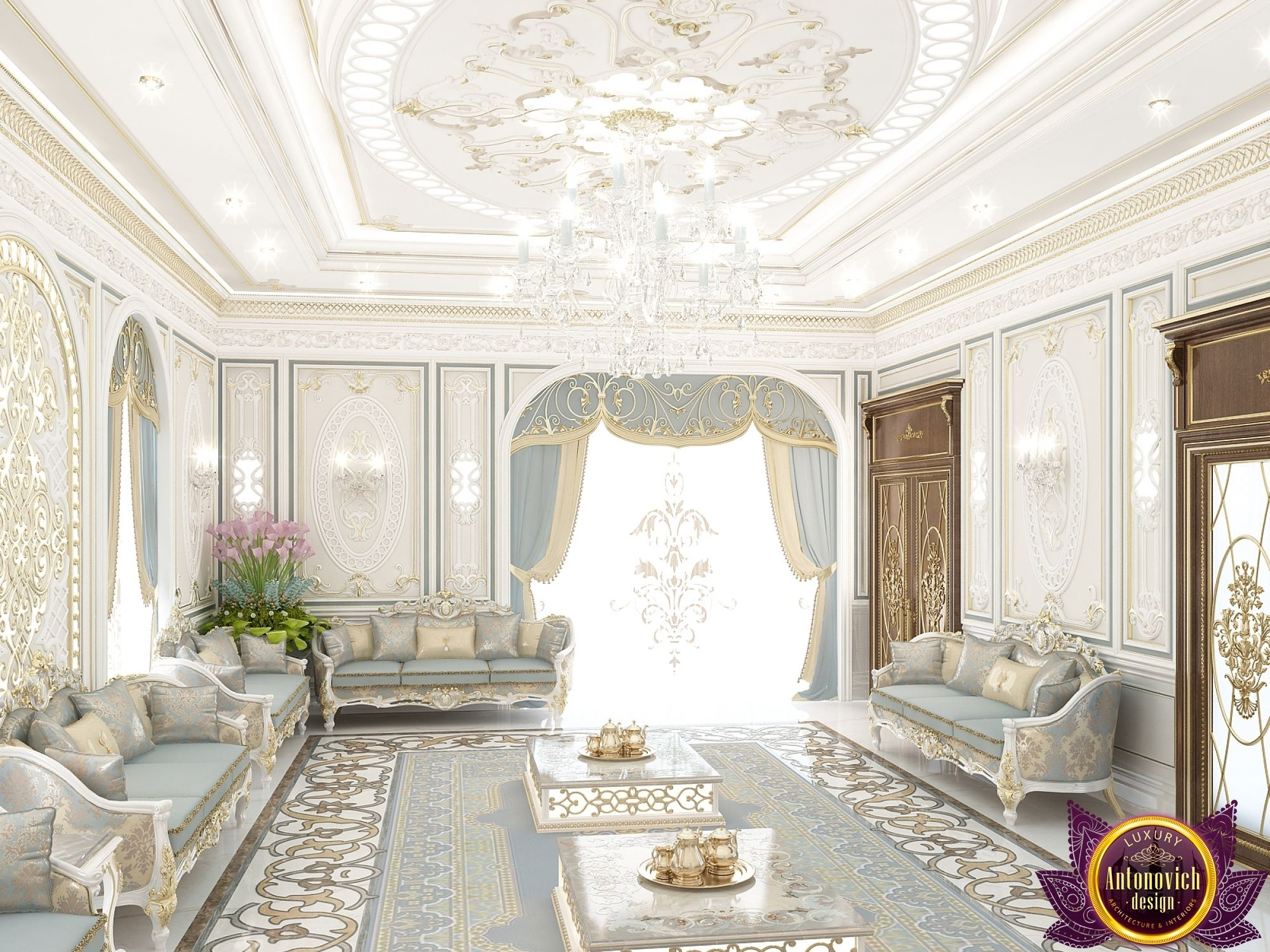 Majlis Interior Design In Dubai Royal UAE Photo 4