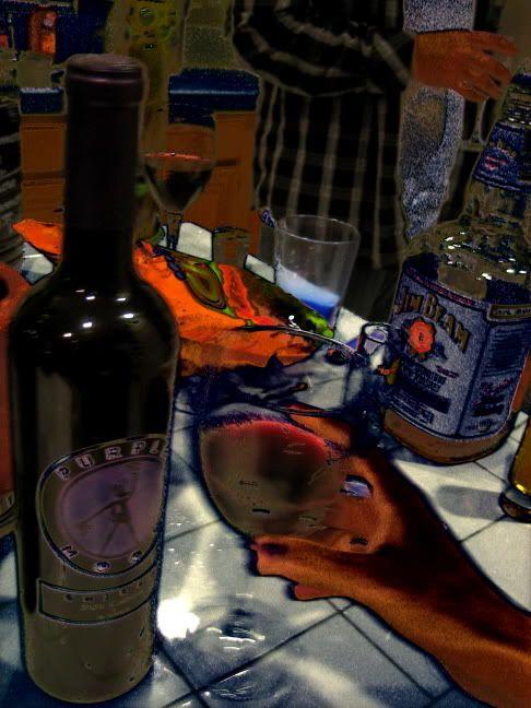 wine photo art