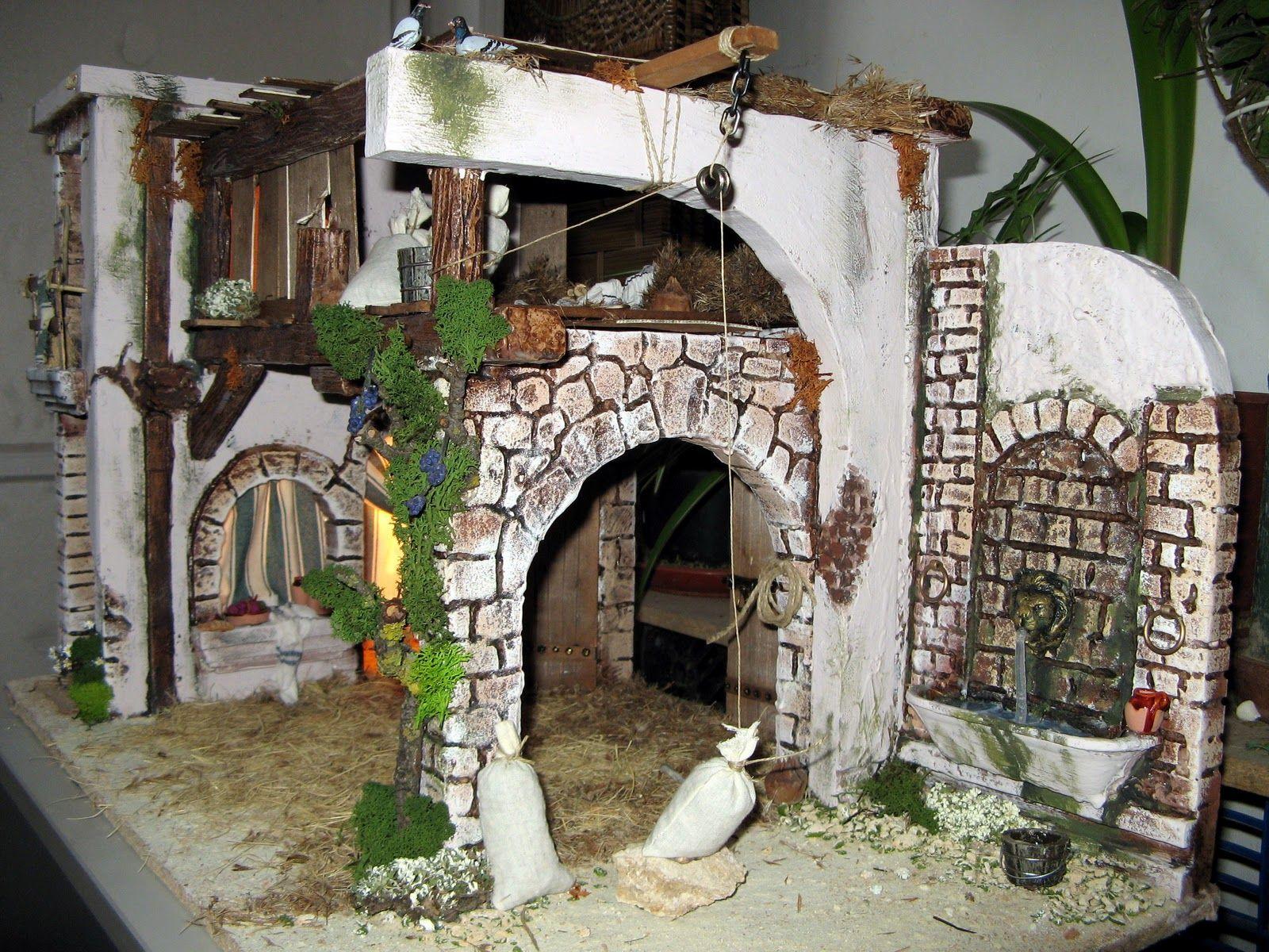 Quiero presentar mi exposici n de portales de belen para el fin de semana de todos los santos - Portales de belen originales ...