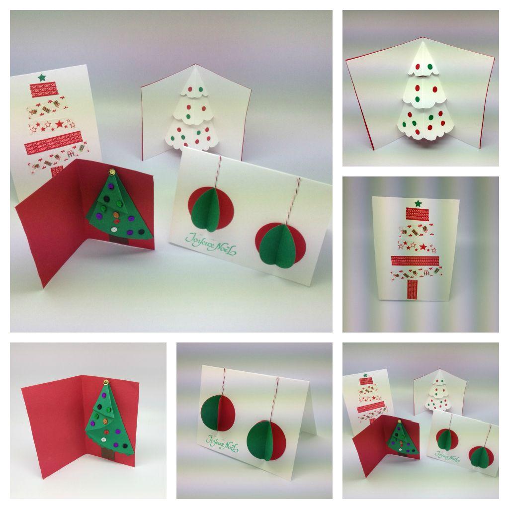 Cartes Noel Bricolage Enfant Carte Noel Cartes De Voeux