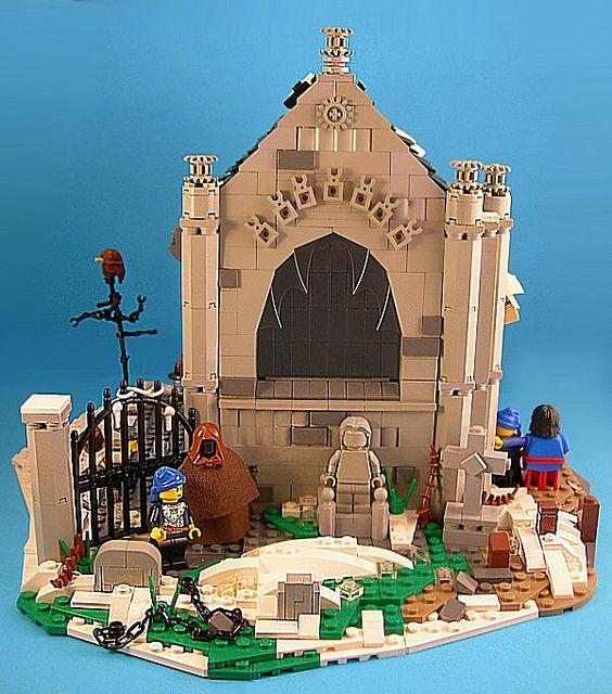 Ghost of Chrismas Yet to Come   Lego halloween, Cool lego, Lego