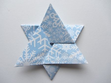 Httporigami Instructionseasy Origami Star Of Davidml