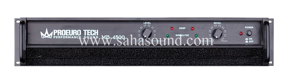 Power Amplifier MB-4500 Eurotech | MB4500 in 2019 | Audio