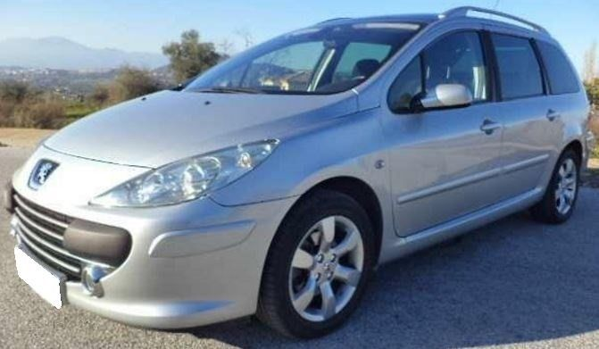 2008 Peugeot 307 Sw 1 6 Hdi 7 Seater Estate Cars For Sale Peugeot Seater