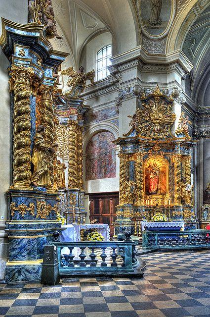 Church of St. Bernard's , Krakow, Poland by JerzyW, via Flickr