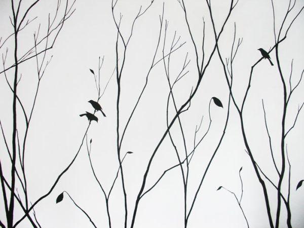 Autumn Tree Painting Idee Arte E Idee Per La Casa
