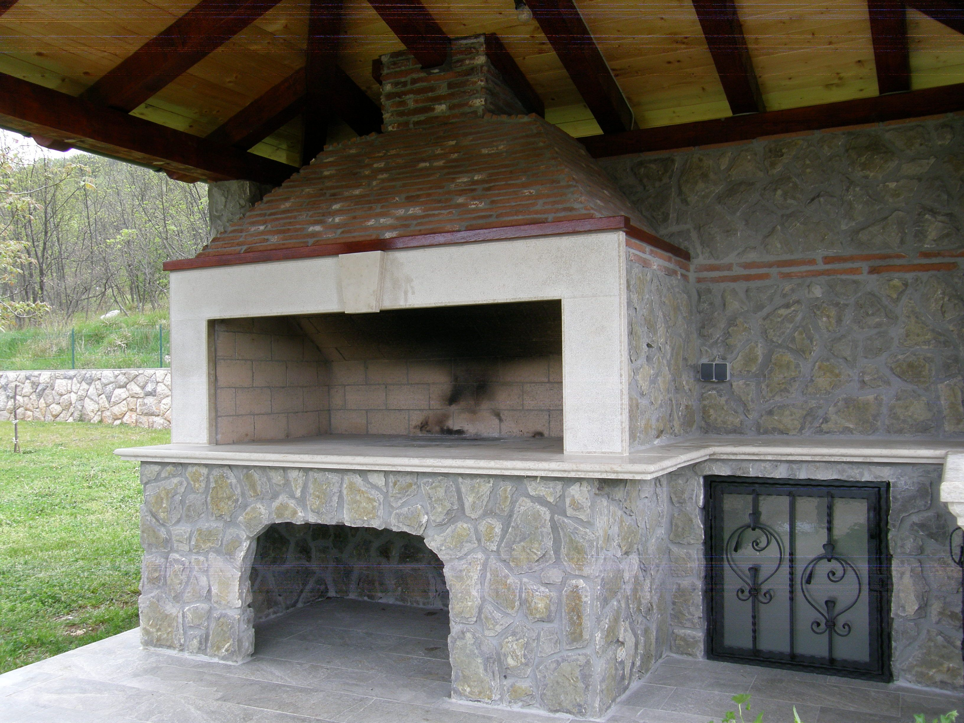 outdoor fireplaces design de carina a a home decoration