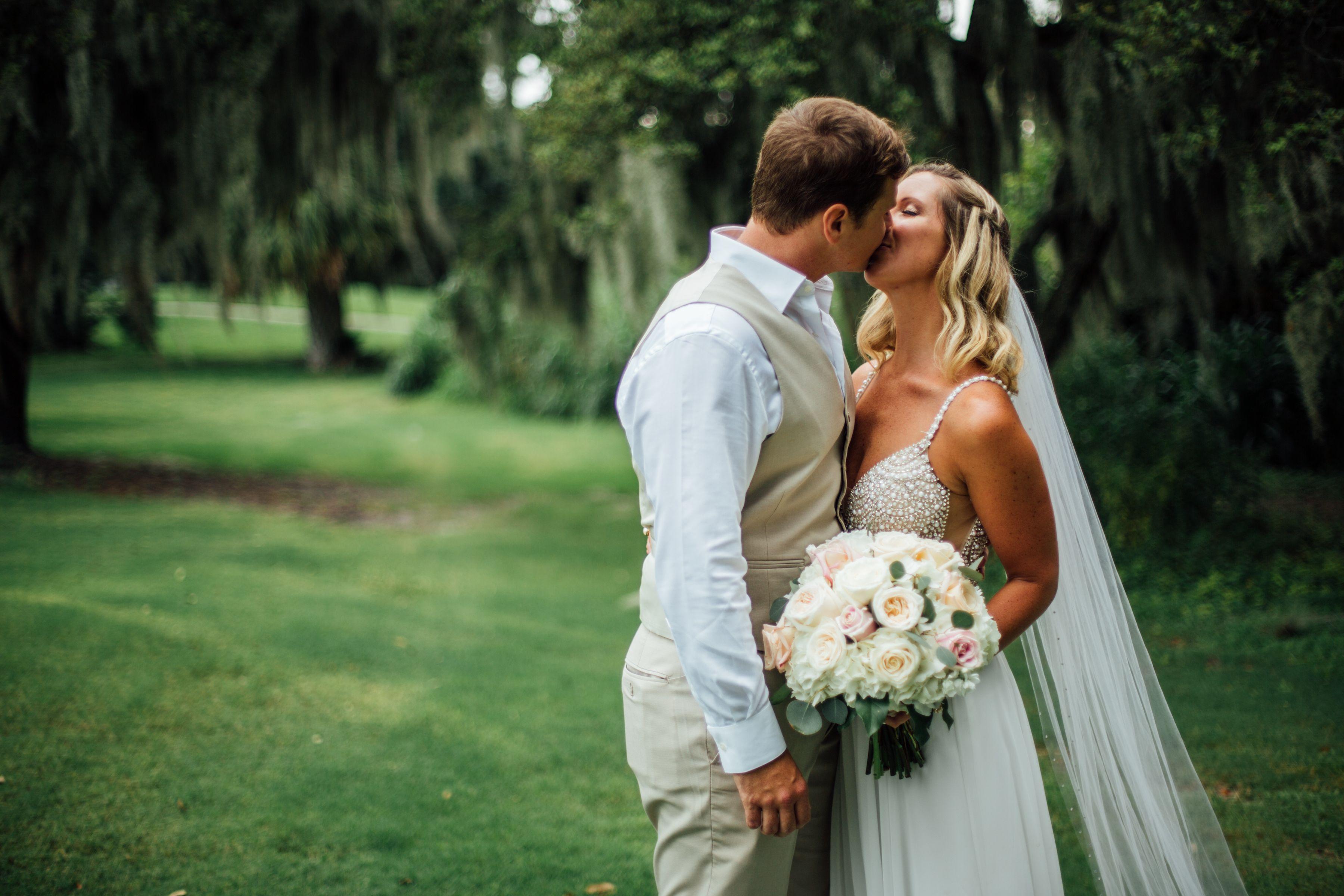 Backyard wedding winter springs fl barefoot photography